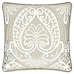 J. Queen New York™ Le Blanc 18-Inch Square Throw Pillow in Silver