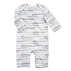 Aden® by aden + anais® Size 6-9M Long Sleeve Flag Coverall in White