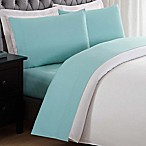 Laura Hart Kids Solid Twin XL Sheet Set in Turquoise