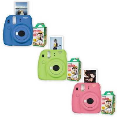 Fujifilm Instax Mini 9 Instant Camera Bundle - Bed Bath & Beyond