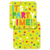 "Design Design ""It's Party Time"" Coasters (Set of 10)"