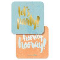 Design Design Let's Party Coasters (Set of 10)