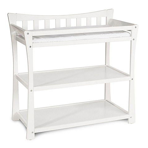 Child craft parisian changing table in matte white for Child craft changing table