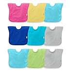 green sprouts® by i play® 3-Pack Pull-Over Stay-Dry Bibs in Pink