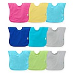 green sprouts® by i play® 3-Pack Pull-Over Stay-Dry Bibs in Aqua