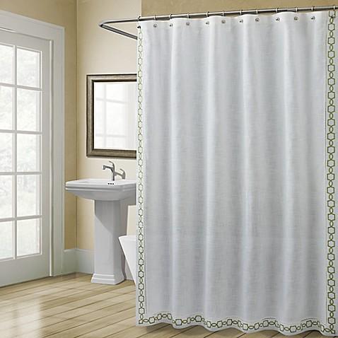 Croscill Landon 72 Inch X 72 Inch Shower Curtain In Green Bed Bath Beyond