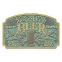 Whitehall Products Craft Beer Tavern Plaque in Bronze