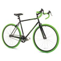 Takara Kabuto 700c 21-Inch Bicycle in Black
