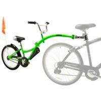 WeeRide Co-Pilot 20-Inch Child Bike Trailer in Green