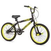 Razor High Roller 20-Inch Boy's Bicycle in Black/Yellow