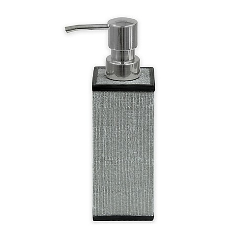 image of Bacova Peyton Lotion Dispenser in Grey