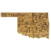 Totally Bamboo® Oklahoma Destination Cutting Board