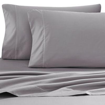 Wamsutta® 500 Thread Count PimaCott® Sofa Bed Full Sheet Set In Grey