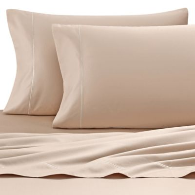Wamsutta® 500 Thread Count PimaCott® Sofa Bed Queen Sheet Set In Taupe
