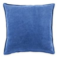 Surya Velizh 18-Inch Square Throw Pillow in Cobalt