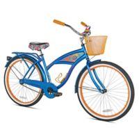 Margaritaville 26-Inch Ladies' Cruiser Bicycle in Blue/Orange
