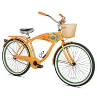 Margaritaville 26-Inch Men's Cruiser Bicycle in Orange