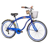 Margaritaville Coast is Clear 26-Inch Men's Cruiser Bicycle in Blue