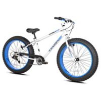Takara Nubo 26-Inch x 4-Inch Men's Fat Tire Bicycle in White