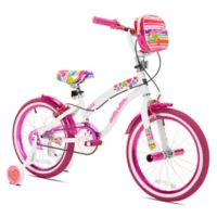 Kent Starlite 18-Inch Girl's Bicycle in White/Pink