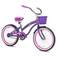 Kent Tiki Bay 20-Inch Girl's Bicycle in Purple/Pink
