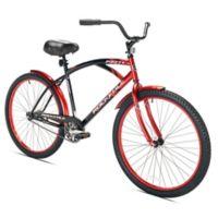Kent Rockvale 26-Inch Men's Cruiser Bicycle in Black/Red