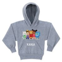 """Daniel Tiger's Neighborhood™ Daniel Tiger """"Is For"""" Size 2T Pullover Hoodie in Charcoal"""
