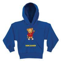 Daniel Tiger's Neighborhood™ Daniel Tiger Hello Size 6/8 Pullover Hoodie in Blue
