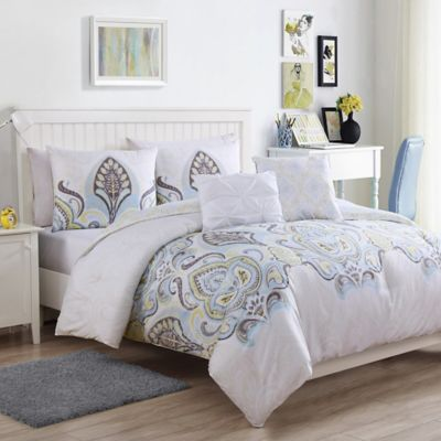 Blue And Brown Bedroom Set buy blue and brown comforters from bed bath & beyond