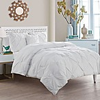VCNY Home Carmen 4-Piece King Comforter Set in White