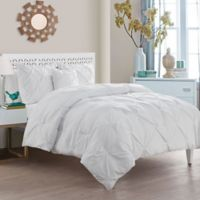VCNY Home Carmen 4-Piece Queen Comforter Set in White