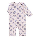 aden® by aden + anais® Size 3-6M Medallion Print Coverall in Pink