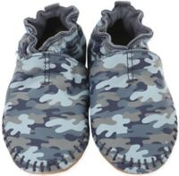 Robeez® Size 0-6M Soft Soles Classic Moccasin in Camo