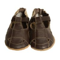 Robeez® Soft Soles™ Size 0-6M Fisherman Sandal in Brown