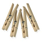 Honey-Can-Do® 24-Piece Classic Spring Wooden Clothespins