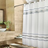 CroscillR Spa Tile 72 Inch X 84 Fabric Shower Curtain