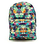 M-Edge 19-Inch Graffiti Backpack with Battery in Multi Triangle