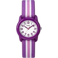 Timex® Time Machines Children's 29mm Watch with Purple/Pink Nylon Strap