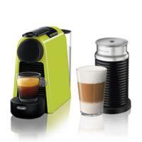 Nespresso® by Delonghi Essenza Mini Espresso Machine with Aeroccino in Lime