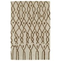 Kaleen Casablanca Impressions 4-Foot x 6-Foot Area Rug in Ivory