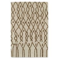 Kaleen Casablanca Impressions 5-Foot x 8-Foot Area Rug in Ivory