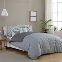 Seedling by ThomasPaul® Synthesize 5-Piece Reversible Twin Duvet Cover Set in Grey