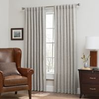 Canyon 108-Inch Rod Pocket/Back Tab Window Curtain Panel in Silver