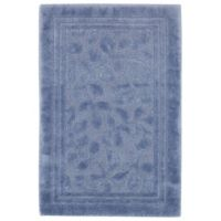 Mohawk Home Wellington 2-Foot 6-Inch x 4-Foot 2-Inch Bath Rug in Blue