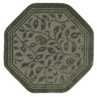Mohawk Home Wellington 4-Foot x 4-Foot Octagonal Bath Rug in Sage