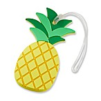 Kate Aspen Pineapple Luggage Tag in Yellow