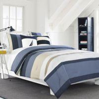 Nautica® Grand Bank Reversible Comforter Set in Beige
