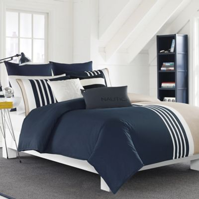 set stripe comforter bath wamsutta beyond blue buy striped in and damask white bed