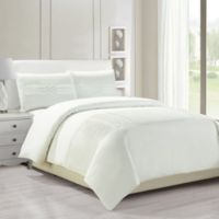 Kensie Geonna Full/Queen Duvet Cover Set in White