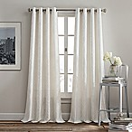 Rutherford 84-Inch Grommet Top Window Curtain Panel in White